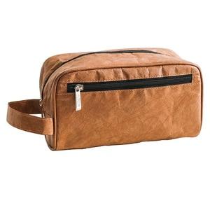 Men DuPont Paper Cosmetic Bag Waterproof