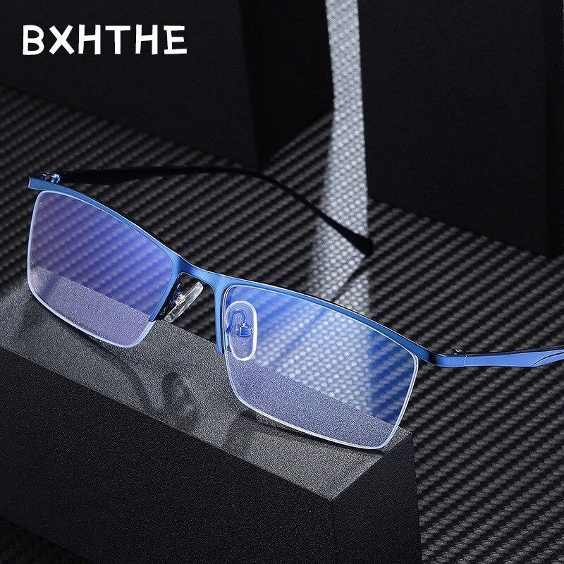 2020 Men Optical Square Frames Eyeglasses Frames Prescription Glasses Frames For Women Eyewear Frame Myopia Alloy Frame Clear