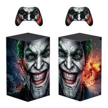 The Joker Skin Sticker Decal Cover for Xbox Series X Console and 2 Controllers Xbox Series X Skin Sticker Vinyl