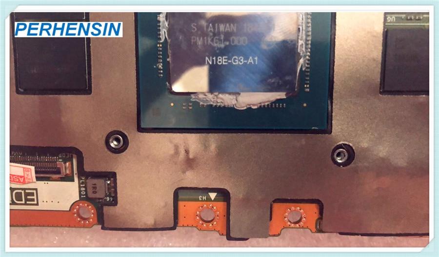 V08h9 para nvidia rtx 2080 32 gb placa de vídeo N18E-G3-A1 para alienware área 51m m15 LS-G888P