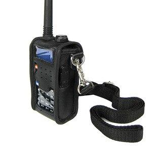 Image 5 - 2 قطعة CB راديو لينة حقيبة جلدية الحقيبة اكسسوارات ل BAOFENG اسلكية تخاطب UV 5R UV 5RE زائد UV 5RA زائد UV 5RB TYT TH F8