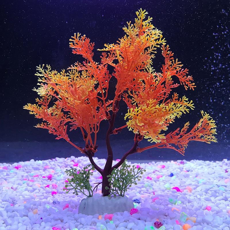 Simulation Artificial Plants Aquarium Decor Water Weeds Grass Fish Tank Ornament Accessories Aquarium Decoration Plants
