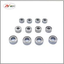 10Pcs/set MR63 MR83 MR93 683 693 603  623ZZ Double sided iron sheet sealSmall diameter ball bearing with inner diameter of 3mm