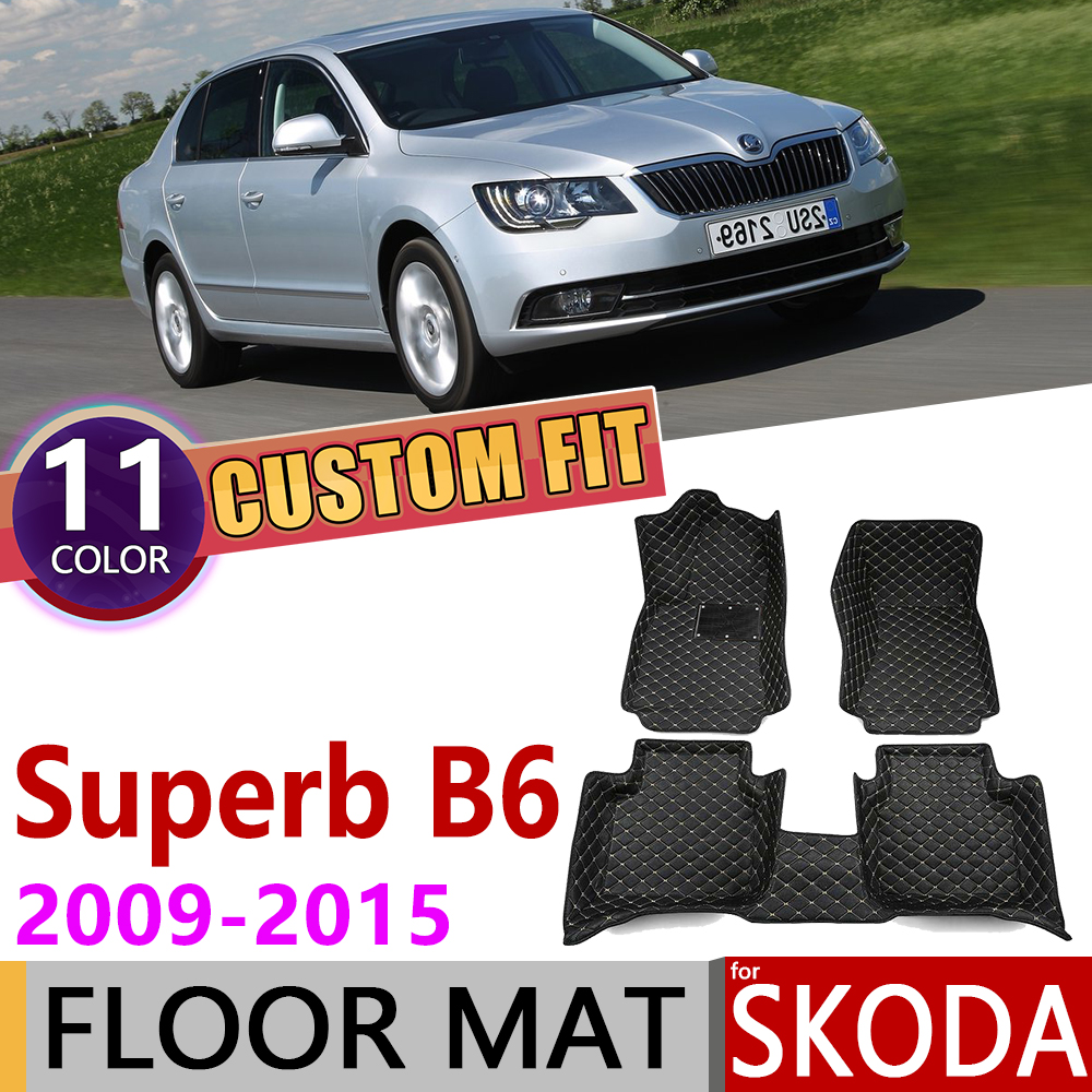 2009- Skoda Octavia Tailored Car Mats