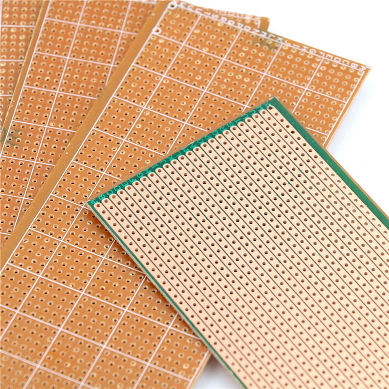 5 Pcs PCB Stripboard Strip Printed Circuit Board Prototype Track Breadboard Home Garden Supplies Tools Parts Accessories