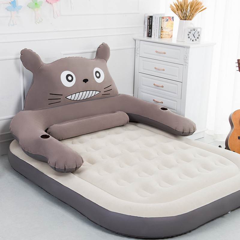 Inflatable Mattress Inflatable Bed Single Or Double Persons Household Gas Filled Bed Outdoor Portable Air Cushion Bed