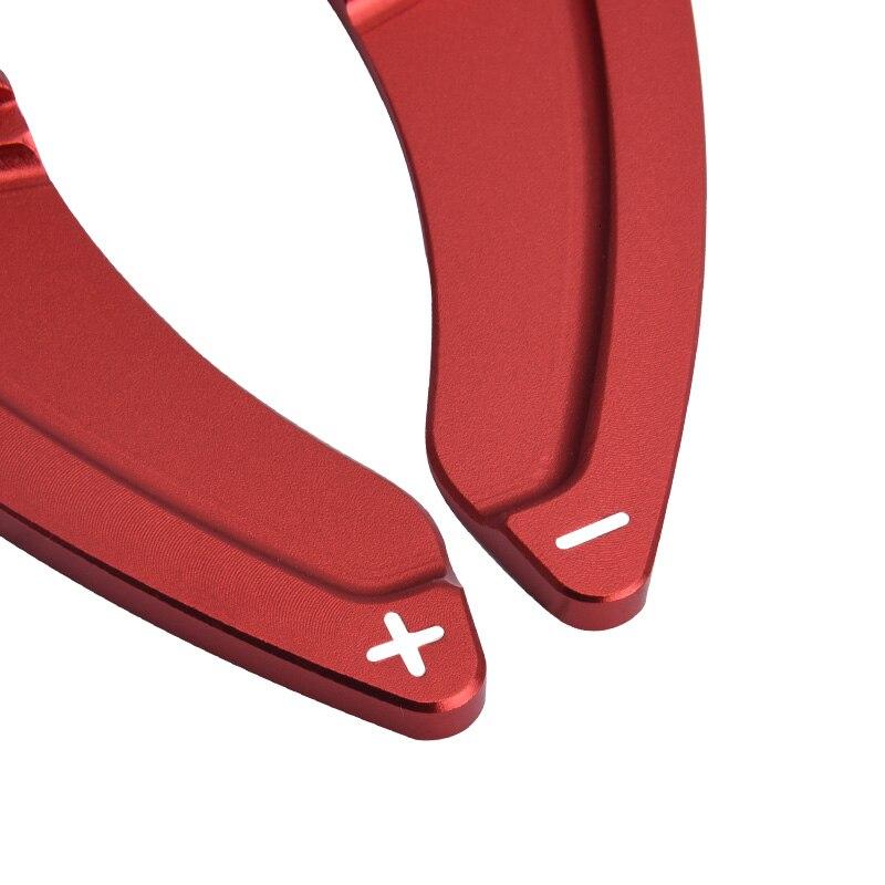 Image 3 - SPEEDWOW 1Pair Car Aluminum Steering Wheel Extension Shift Paddles For Volkswagen VW GOLF 7 2015  GTI R MK7 Scirocco Auto PartsSteering Wheels & Steering Wheel Hubs   -