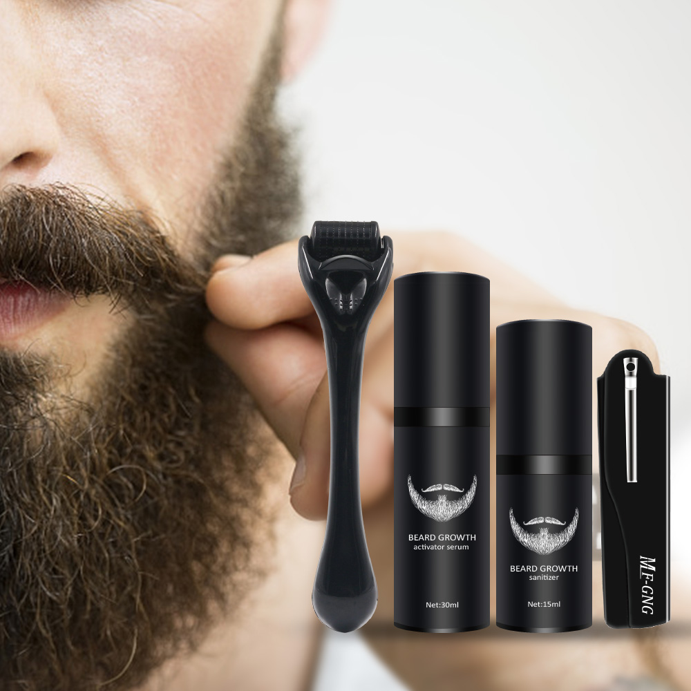 barba barbe crescimento do cabelo realcador conjunto 05