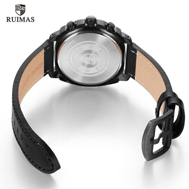 Ruimas Men Watches Leather Strap RL552G