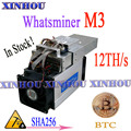 BTC BCH Miner WhatsMiner M3X 11.5-12TH/s Asic SHA256 Биткоин Майнер с PSU экономичный  чем M21S M20S Antminer S9 S15 T17 S17 T2T