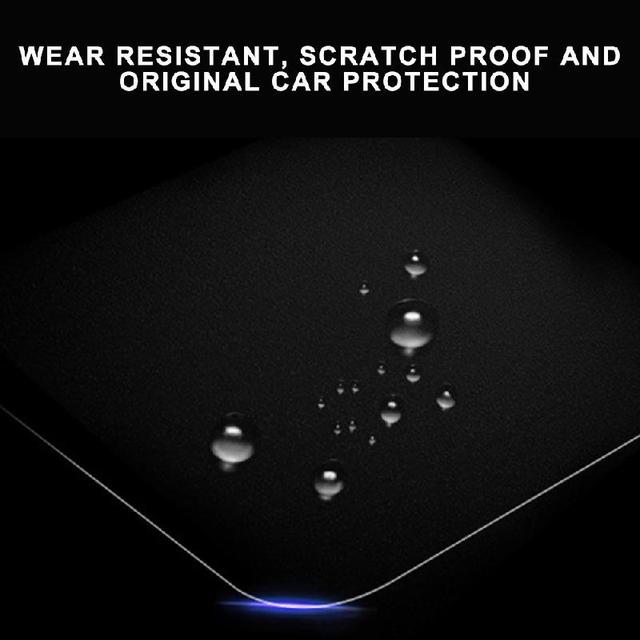 Center Console Navigation and Dashboard Screen Protector Tempered Glass Anti-Scratch Protector for Tesla Model 3/X/S 4