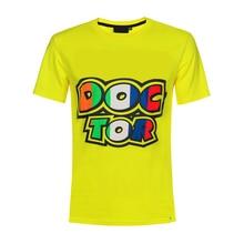 Scooter Dirt Bike Motorbike Racing Doctor T-shirt Yellow Summer Shirt Jersey Mens