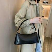 Sacos de ombro pequenos para as mulheres saco de couro do plutônio marca mini elegante bolsa de ombro cor sólida totes dropshipping