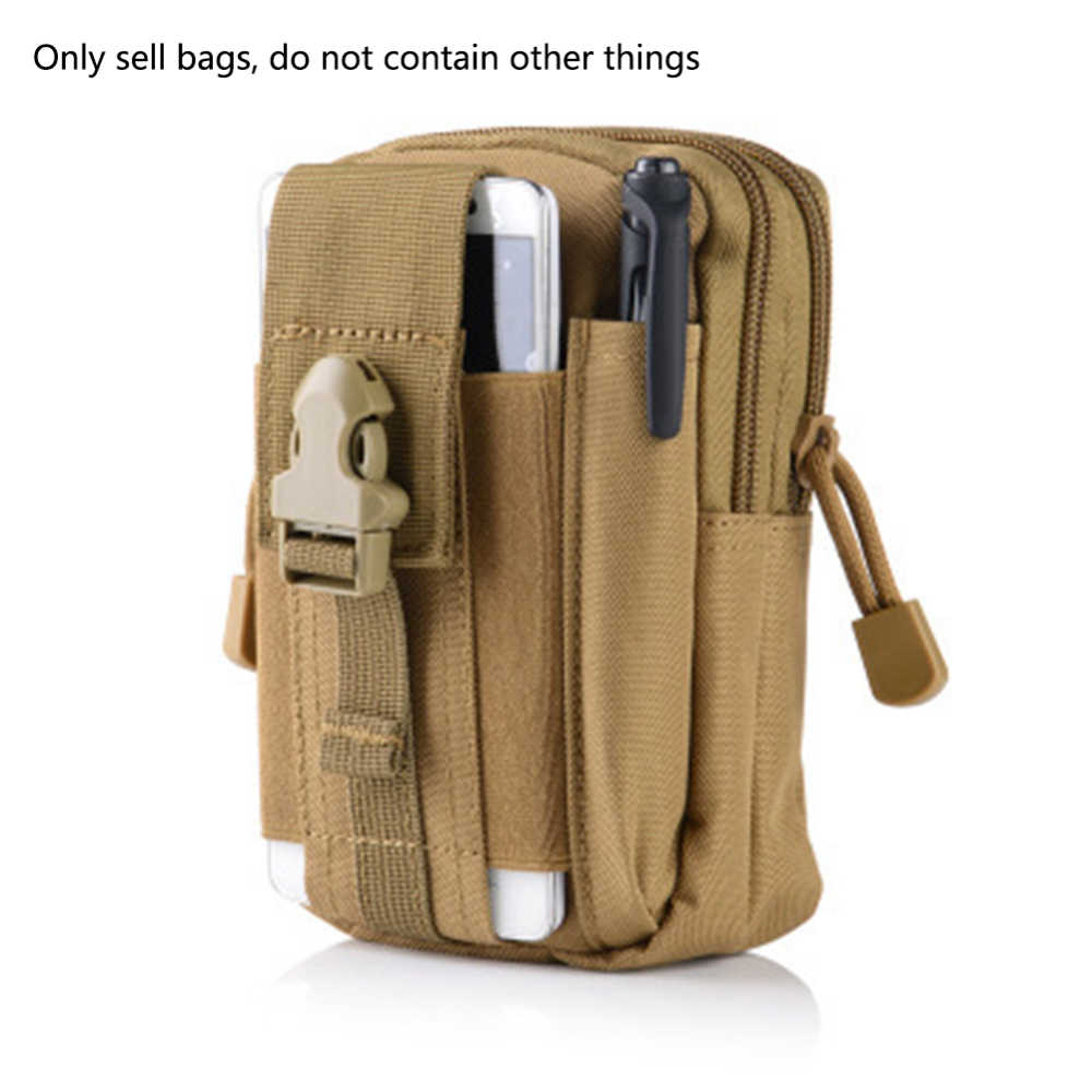 Neue Nylon Taille Tasche Tactical Pouch Jagd Gürtel Taille Tasche Military Pack Outdoor Telefon Beutel Dropshipping Über 12x6x17,5 cm