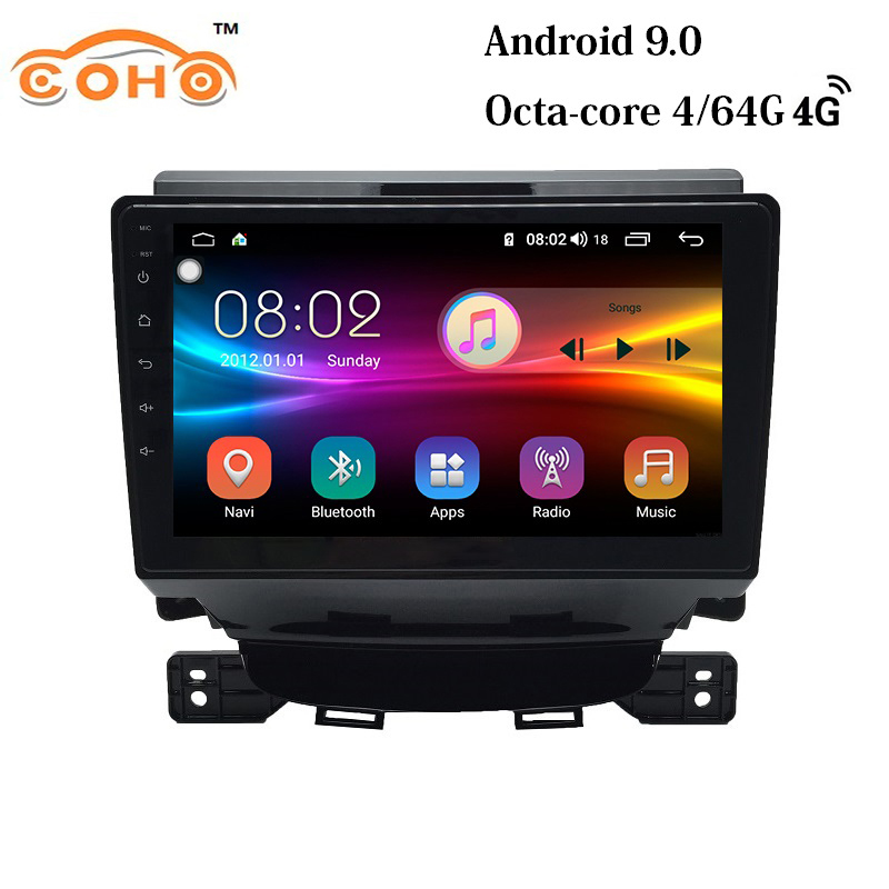 Android 9.0 8-core IPS Screen travel navigators <font><b>carro</b></font> 1 din car radio gps for 2017 JAC Refine M5 image