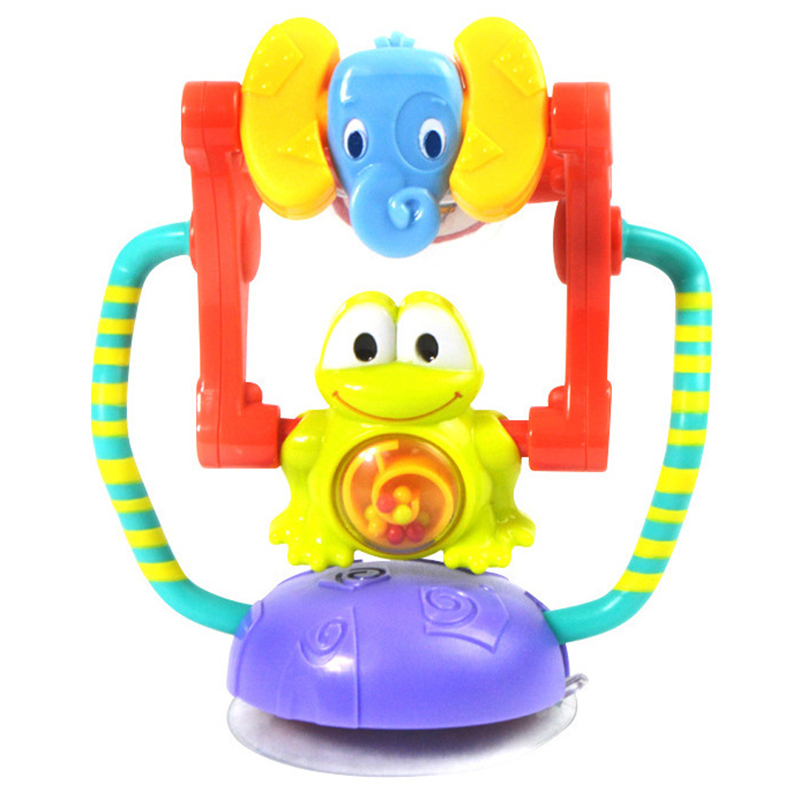 Baby Toys Wheel Rattles Baby Stroller Toys Toddler Activity Play Toys 0-12 Month