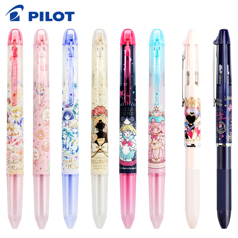 1pcs Japan PILOT COLETO Multifunctional Pen Shell Sailor Moon 25th Anniversary Restricted Refill LHKRF-10C4