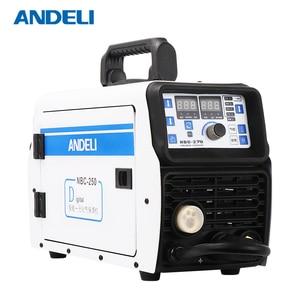 Image 4 - AndeliポータブルインテリジェントCO2 mig溶接機ミグ 250 多機能mma/mig 2 で 1 220v mig溶接機
