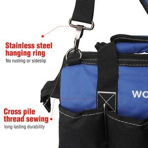 "Image 4 - WORKPRO 14"" Tool Bags Waterproof Base Tool Storage Bags Shoulder Bag Handbag Free Shipping"