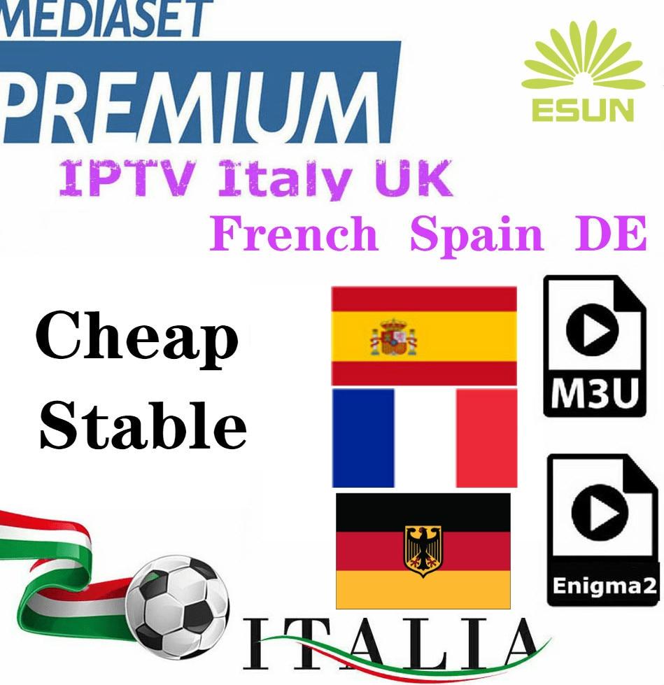 Esuntv IPTV Subscription FHD IPTV Italy Frenchtv Netherlandtv UKTV USATV Turkishtv