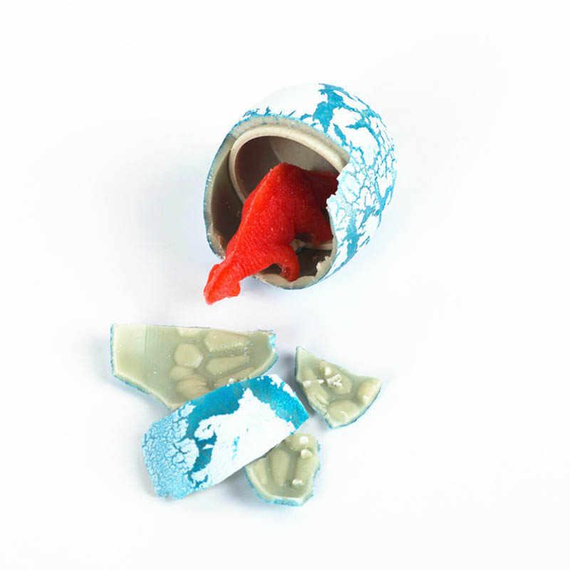 10pcs חידוש Gag צעצועי ילדי צעצועים חמוד קסם בקיעת גידול בעלי החיים דינוזאור ביצי לילדים חינוכיים Creative צעצועי מתנות