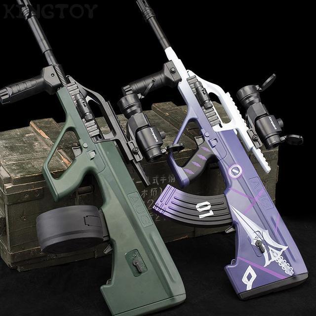 AUG Airsoft Manual +electric BB Or Gel Airsoft Gun Safety Cs Shooting Game Paintball Airsoft Air Guns 2
