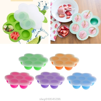 Baby Food Container Infant Fruit Breast Milk Storage Box Freezer Tray Crisper  O06 20 Dropshipping baby food container infant fruit breast milk storage box freezer tray crisper l4mc