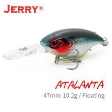 Сверхлегкая рыболовная приманка jerry atalanta Воблер для глубокого