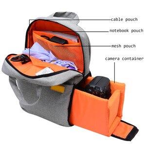 Image 5 - Besegad Shockproof Camera Travel Storage Shoulder Backpack Photography Video Bag for DSLR Camera Nikon Canon Sony Pentax