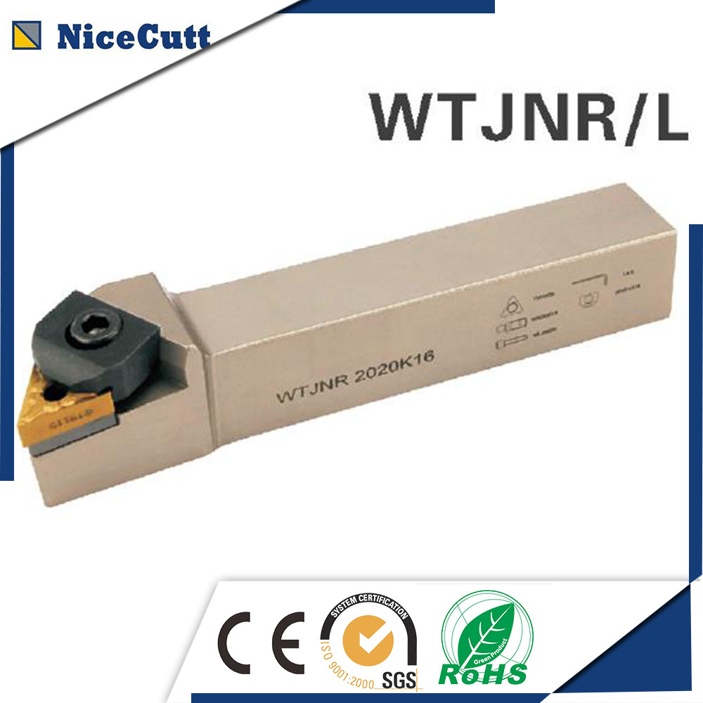 WTJNR2525M16 Nicecutt External Turning Tool Holder For TNMG Insert Lathe Tool Holder
