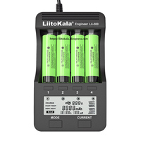 2020 liitokala Lii-500 Rechargeable Battery charger Lii-PD4 Lii-S1 lii-S2 lii-S4 18650  For 3.7V 21700 26650 20650 AA AAA