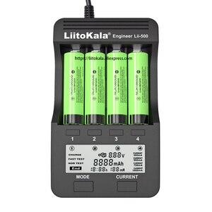 Image 1 - 2020 liitokala Lii 500 şarj edilebilir pil şarj cihazı Lii PD4 Lii S1 lii S2 lii S4 18650 için 3.7V 21700 26650 20650 AA AAA