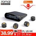 70mai Externe Sensor Tire Pressure Monitor System Lite APP Control Solar Power USB tmps Lite 70 mai Auto Reifen Druck alarm-in Reifendruck-Alarm aus Kraftfahrzeuge und Motorräder bei