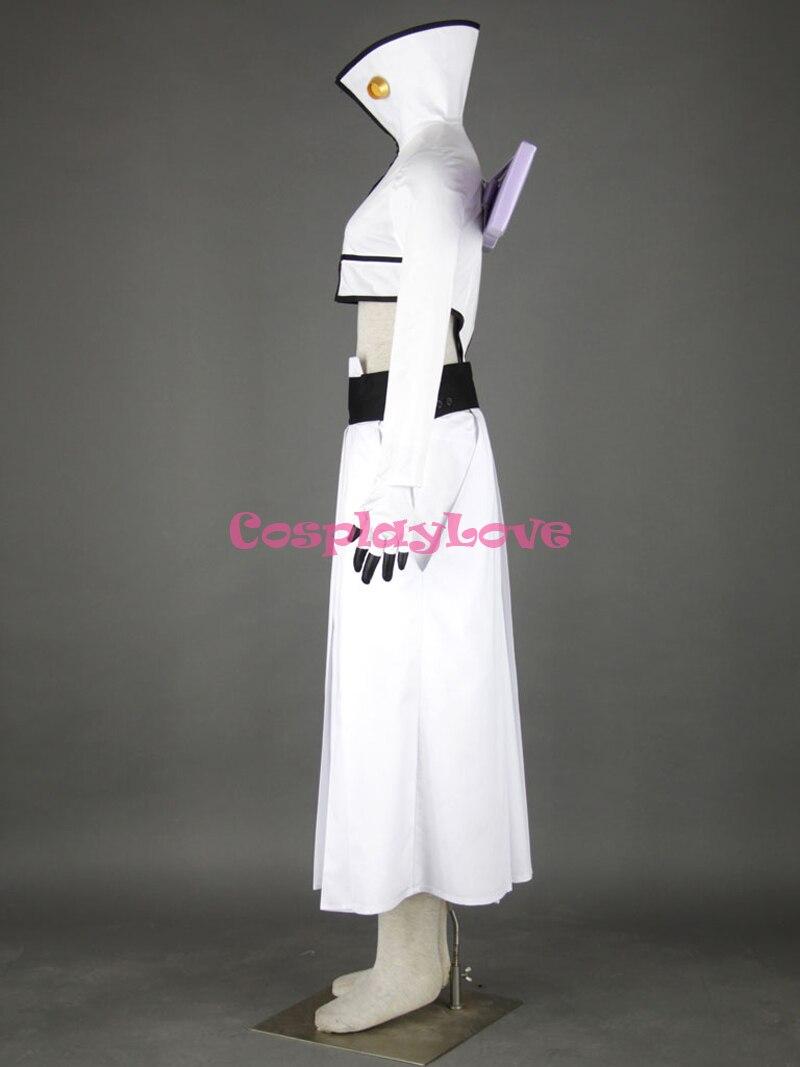 Bleach Tercera Espada Halibel II White Cosplay Costume Custom Any Size