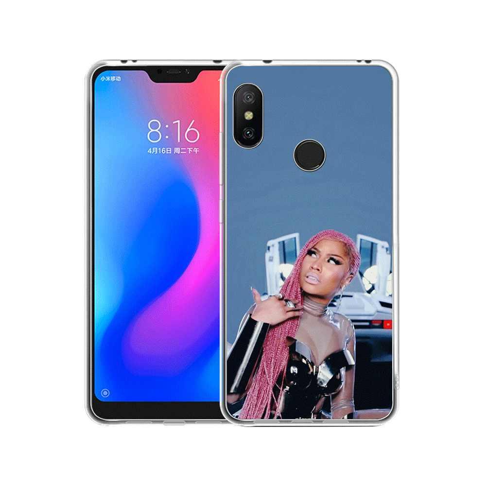 Funda para teléfono móvil para Xiaomi Redmi Note 8 6 7 5 Pro Xiaomi 4 4X 5A funda para mujer lindas
