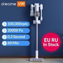 Dreame V9P ручной Беспроводной пылесос Портативный беспроводные циклонный фильтр ковер пылесборник ковер развертки