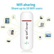 TOLKIEN 3g 4G USB Беспроводной модем маршрутизатор Wi-Fi ключ разблокированный Карманный wifi точка доступа Wi-Fi роутеры беспроводной модем с слотом для sim-карты