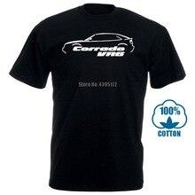 Новинка, модная летняя футболка Corrado Vr6, Ретро стиль, Классическая футболка с автомобилем, хлопковая футболка