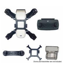 ل Dji شرارة أجزاء حامل Gimbal غطاء للعدسات المروحة المثبت قوس واقية جويستيك حامي كاميرا ملحقات طائرة بدون طيار أطقم