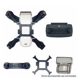 Image 1 - Dji 스파크 부품 짐벌 홀더 렌즈 커버 프로펠러 픽서 보호 브래킷 조이스틱 프로텍터 카메라 드론 액세서리 키트