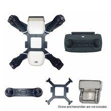 Para dji peças de faísca cardan titular lente capa fixador hélice suporte protetor joystick câmera acessórios kits zangão