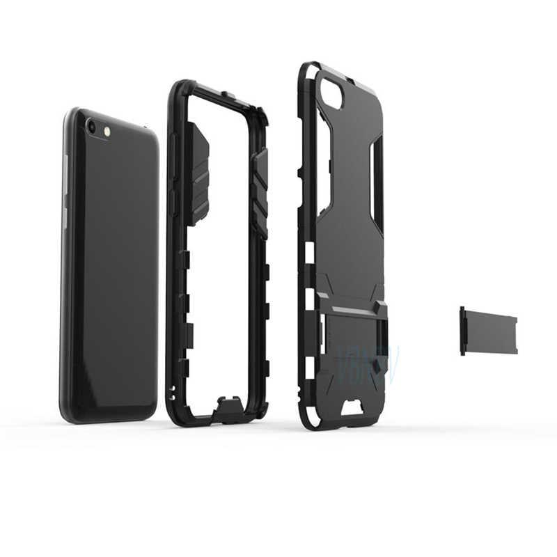 Vbnbv Shockproof Pemegang Case untuk Huawei P30 Pro P10 P20 Lite Nova 3 3i 4 5 Armor Pelindung Cover untuk kehormatan 20 10 9 Lite Case