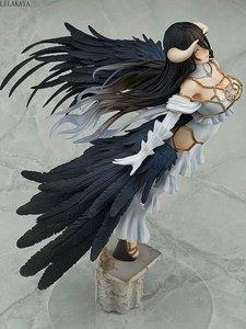 Image 3 - Yeni varış Anime sıcak seksi kız Albedo uçan heykeli 1/8 ölçekli boyalı aksiyon figürü PVC koleksiyon modeli bebek oyuncak LELAKAYA 29cm