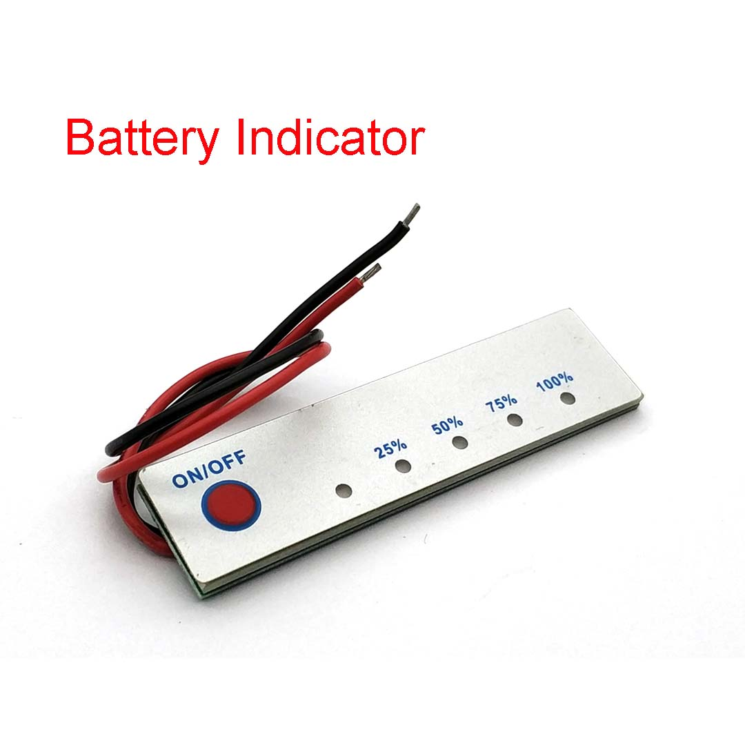 2S 3S 4S BMS Li-ion Battery Lithium Battery Capacity Indicator Display PCB Module 18650 Power Level Tester LCD Charge Discharge