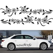 2pcs Car Modified Decal Stickers Vine Flower Natural for Whole Body Decoration