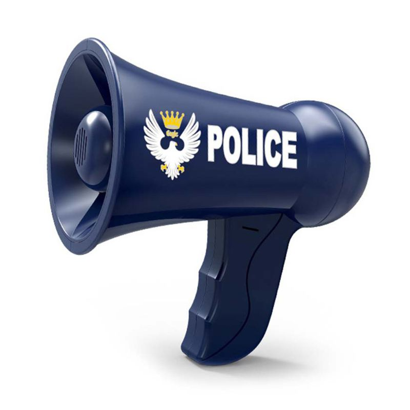 Mégaphone pour enfants, accessoires de simulation de Police, jouets de sirène de Police, changement de voix, jouets d'officier de Police