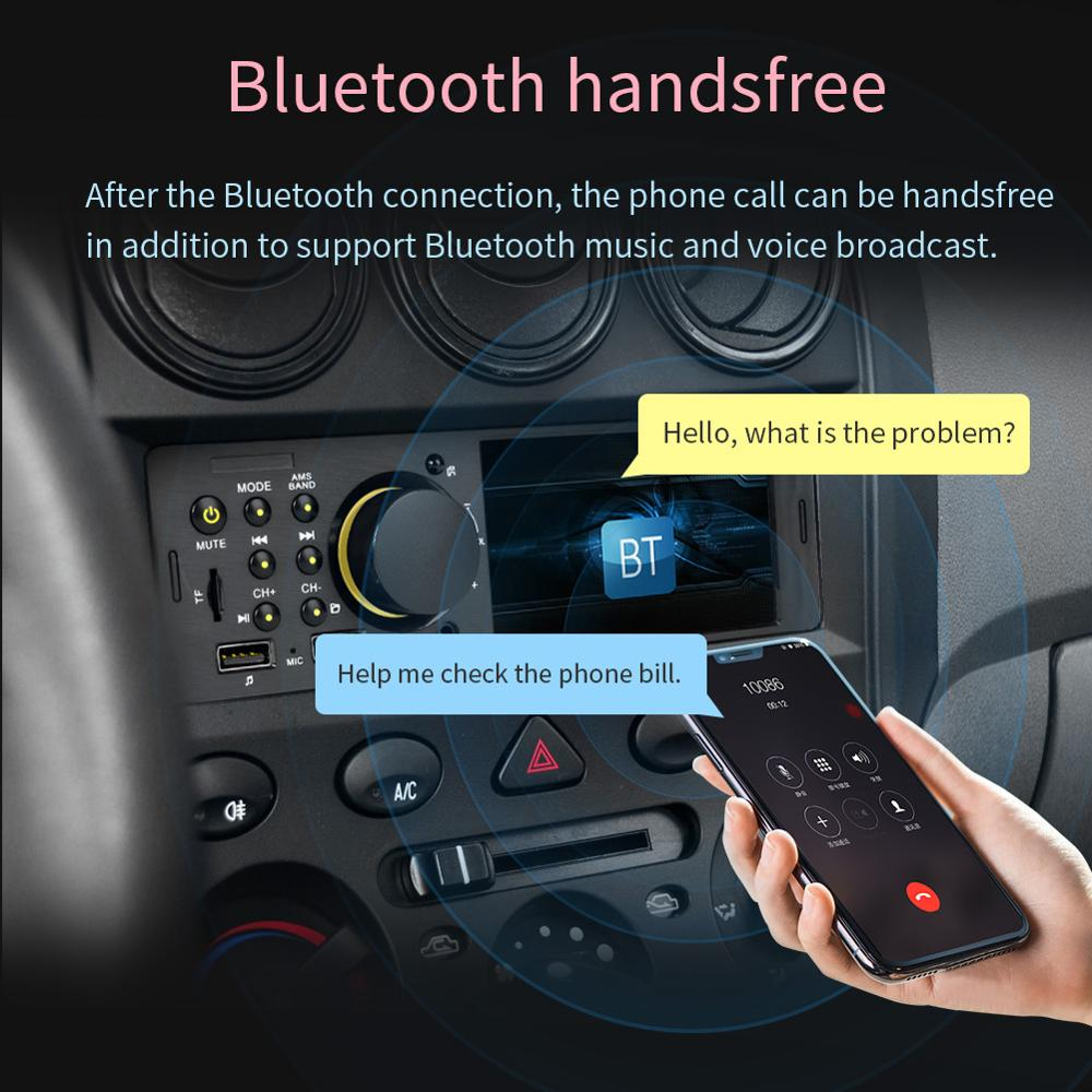 Image 3 - 7805 1Din 4.1 Inch Car Stereo Radio Bluetooth FM Aux USB Car MP5 Multimedia Player with Remote Control Support Rear View Camera-in Car Multimedia Player from Automobiles & Motorcycles