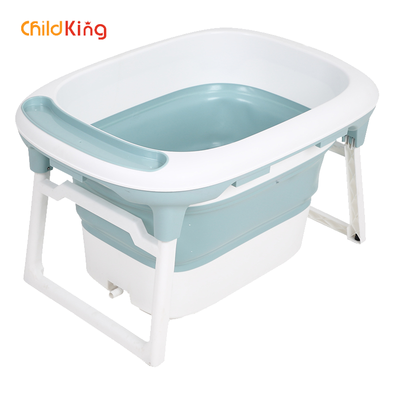 Baby Bathtub Folding Newborn Childking Infants Barrel Home Swimming Large