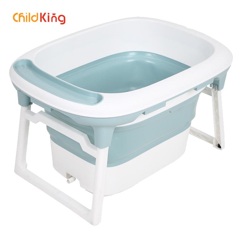 ChildKing Baby Bathtub Child  Barrel  Tub Folding Large Newborn Swimming Home Baby Tub  Bath Tub Baby Bath Tub  Infants
