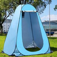Tienda de ducha portátil para exteriores, ducha de privacidad, baño, cambio de ropa, baño de campamento, abrigo de lluvia para pesca, Camping, senderismo y playa